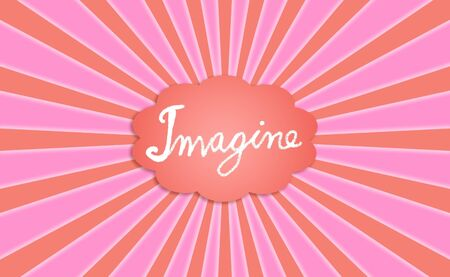 Pink, imagine, cloud, dream, dreaming, imagination, backdrop photo