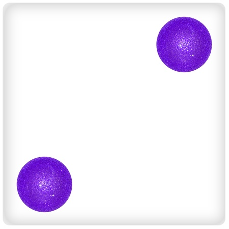 Two, duality, violet, purple, games, game, xmas balls, dice photo