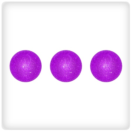 Three, violet, purple, game, games, playing, xmas balls photo