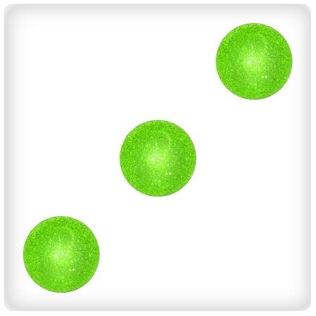 Three, light green, playing, game, fun, dice photo