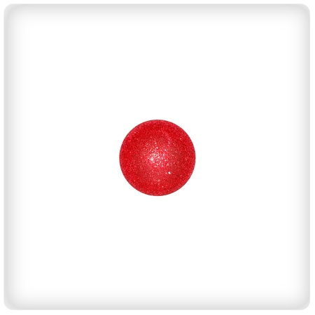 competences: One, red, white, dice, game, playing, xmas