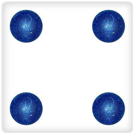 Four, balls, xmas, blue, white, dice, dices, game, games photo