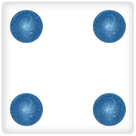 Four, game, blue, balls, festive, funny, xmas photo