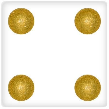 Four, balls, gold, fun, dices, games photo
