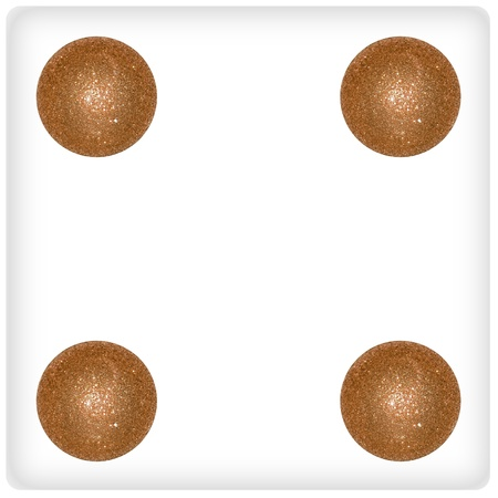 competences: Four, play, game, result, dots, xmas, balls, bubbles, circles