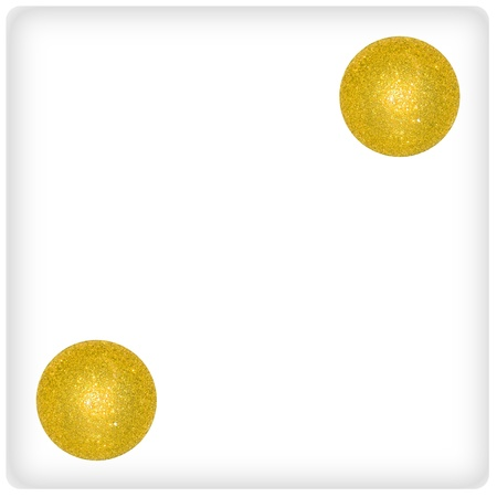 Duality, two, couple, gold, golden, game, games, xmas balls photo