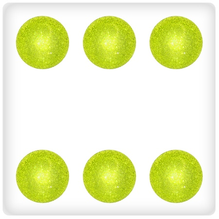 Six, play, joy, green, dice, dices, game, games photo
