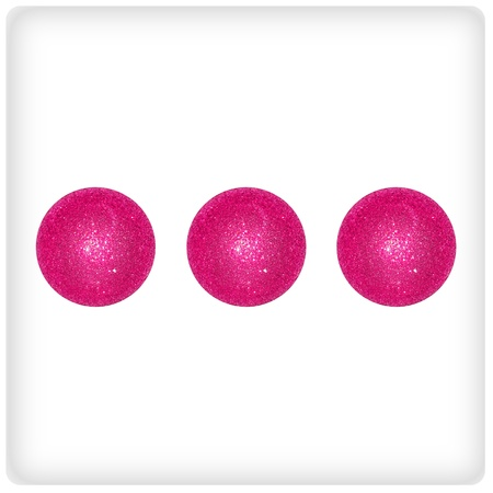 Three, trinity, dots, games, game, dice, dices, pink, balls, xmas photo
