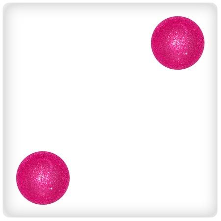 Two, couple, joy, game, play, festive, xmas, pink photo