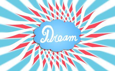 simetric: Dream, cloud, dreaming, power, powers, backdrop Stock Photo