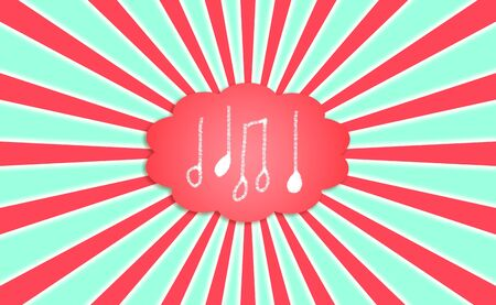 Music, creation, creativity, symbols, signs, notes, cloud, dream photo