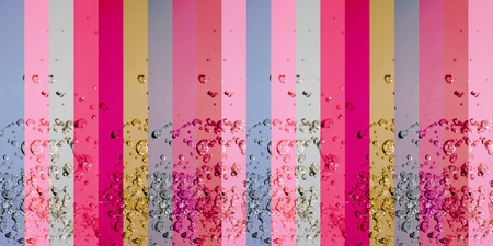 colortherapy: Water, pink, femenine, striped, old style, drops, banners, backgrounds