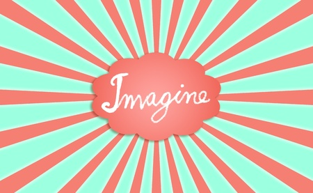 Imagine, cloud, big, dreaming, backdrop, childish photo