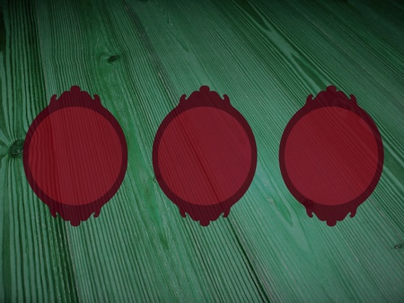 Red and green, xmas, frames, empty, pictures, background, romantic, vinatge, wood Stock Photo - 13205179