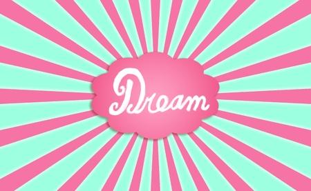 idealized: Dream, cloud, comics, comic, imagination, feel, feeling, background Stock Photo