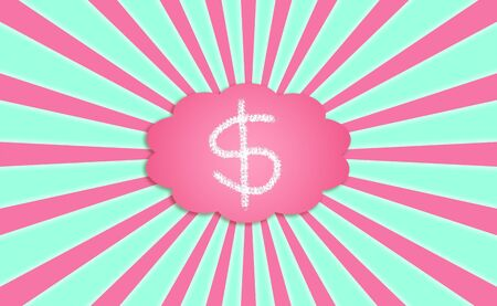 Money, dollars, cloud, abundance, prosperity, concept photo