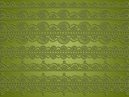 Elegance, vintage, crochet, laces, monochrome, xmas Stock Photo - 13262887