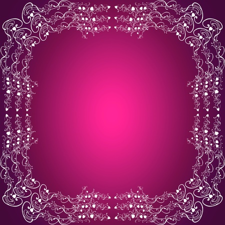 purpleish: Frame, square, purple pink, femenine, frame background