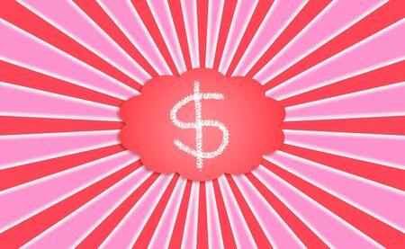 abundance: Money, prosperity, abundance, materialization, background, concept Stock Photo