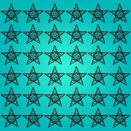 Blue, black, star, stars, backdrop, background photo