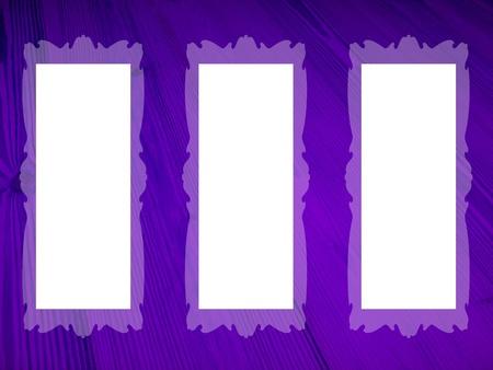 purpleish: Frames, violet, empty, rectangular, white, backgrounds