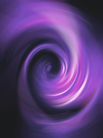 Violet purple and black backdrop with vibrant concentric swirling spiral photo