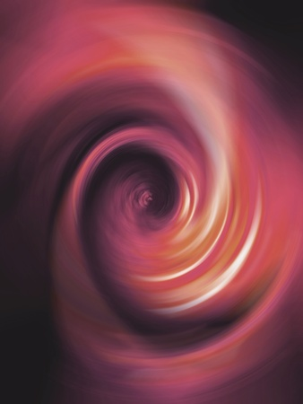 rotative: Soft orange spiral with circular movement making like a light tunnel Stock Photo