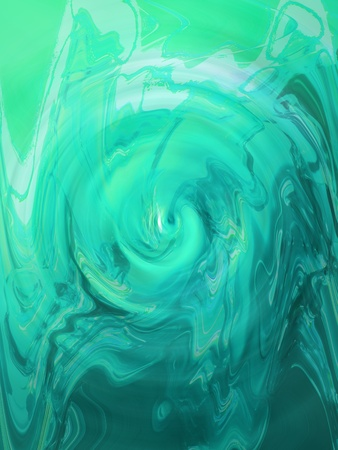 rotative: Turquoise aqua swirling water surface background
