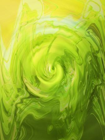 greenish: Greenish yellow paint varnish liquid surface backdrop
