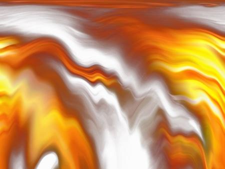 tremante: Onde tremanti di fiamme di fuoco si accende sfondo orizzontale Archivio Fotografico