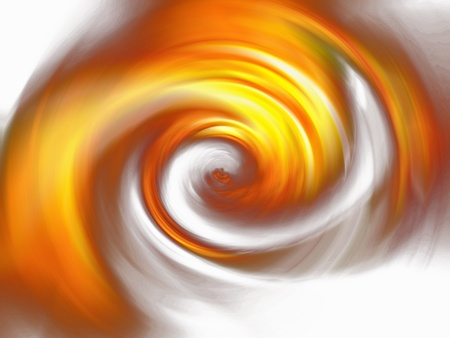 rotations: Abstract tunnel of fire as background