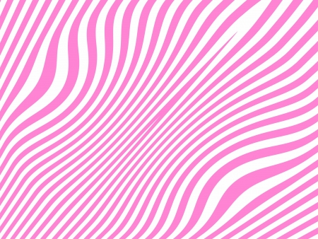 Zebra colored animal print in pink and white background