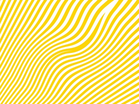 Yellow and white striped background like a zebra skin photo