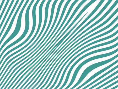 Lines in blueish green and white like colored zebra skin photo