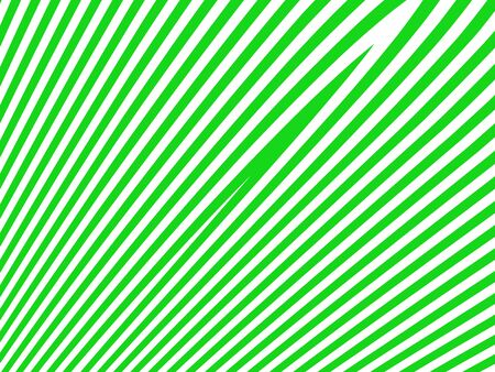 White and brilliant green striped in diagonal pattern photo