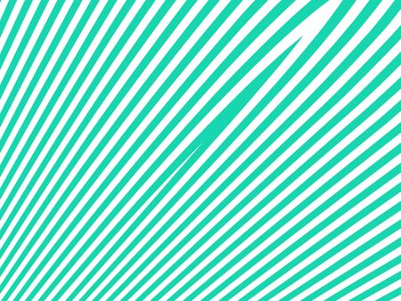 Straight lines light pattern background in green and white photo
