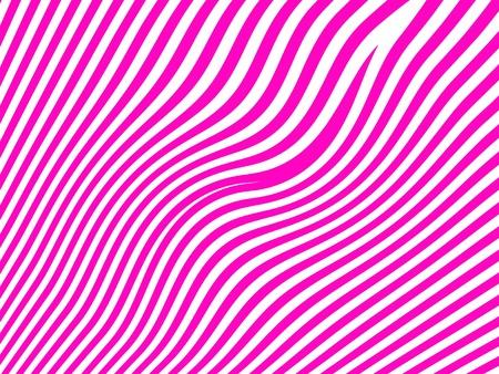Femenine zebra pattern in magenta and white waves Stock Photo - 13525033
