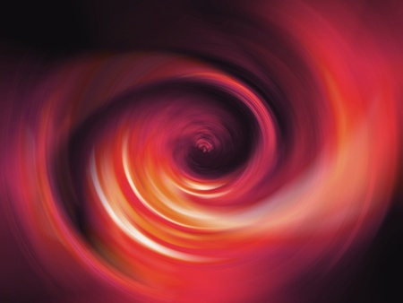 rotative: Red fire flame spiral abstract background