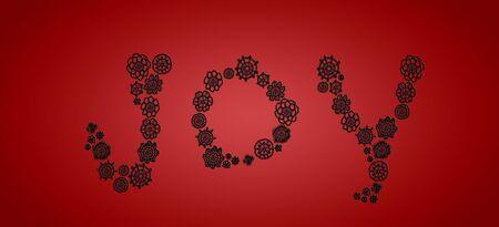 picot: Gioia, fondo, concetto, semplice, sobrio, rosso, annata, Natale Archivio Fotografico