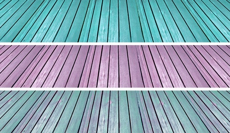 purpleish: Turquoise, violet and blue warmth vintage floors backgrounds