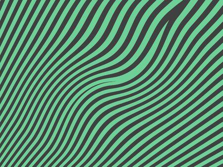 Sober masculie oldish zebra pattern in dark grey and ligh green photo