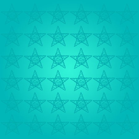 Turquoise starry background for success photo