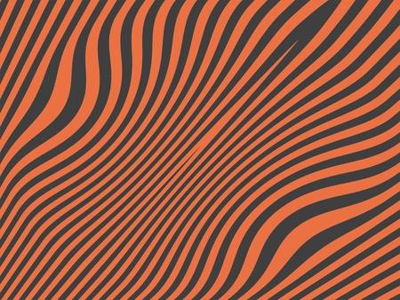 Salmon orange over dark grey background like female zebra pattern photo