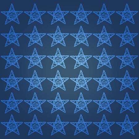 Marine blue background with light blue stars photo