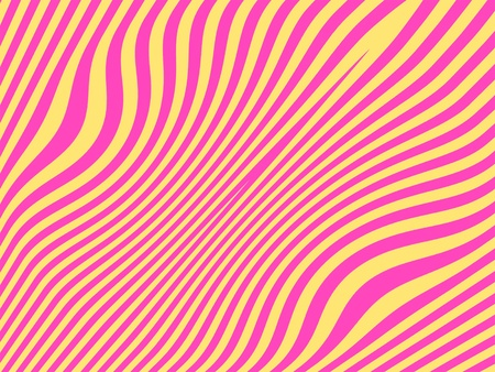 Fancy striped background in pink and pale yellow Stock Photo - 13556362