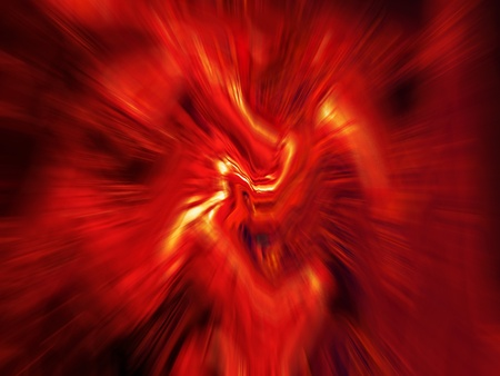 rotative: Red fire abstract blurs moving over black background