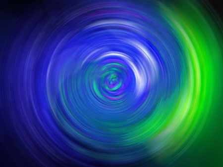 Bright blue and green swirl blurred background photo