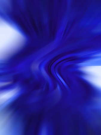 Blue blurs abstract background
