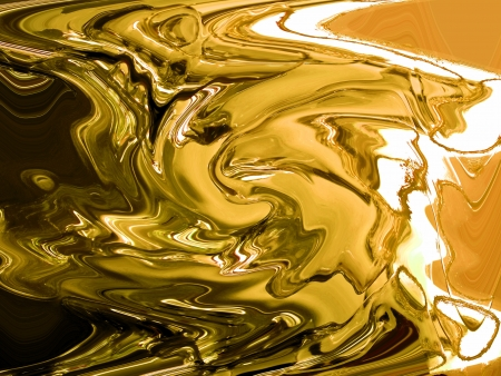 fondu: Or, fonte, fonte, peinture, m�tal pr�cieux, abstrait brillant
