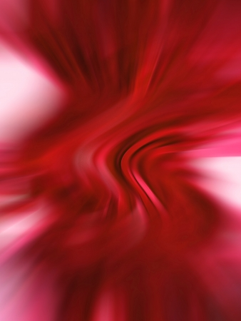Hot red blurred abstract background in vertical photo